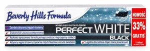 Beverly Hills Formula Perfect White Black wybielająca pasta do zębów - 100ml