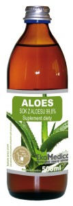 Aloes sok 99.8% EkaMedica - 500ml