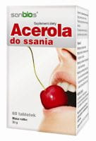 Acerola do ssania - 60 tabletek